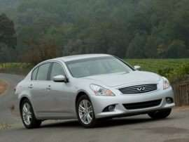 2011 Infiniti G25 Base 4dr Rear-wheel Drive Sedan