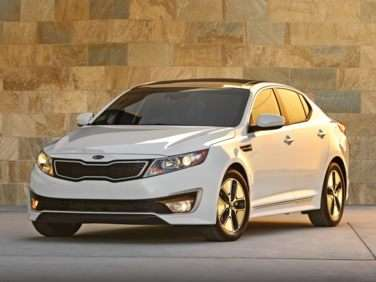 Research the 2011 Kia Optima Hybrid