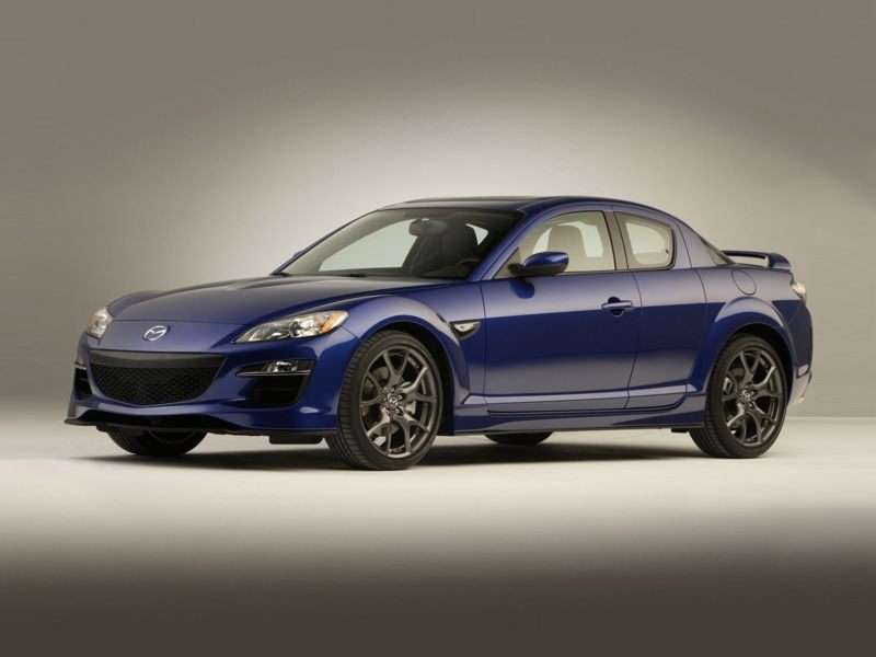 Captivating 5) Used Mazda RX 8