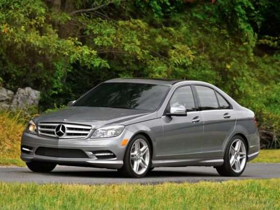 2011 Mercedes-Benz C-Class Luxury (A7) C 300 RWD Sedan