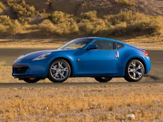 2011 Nissan 370Z Base (A7) Coupe