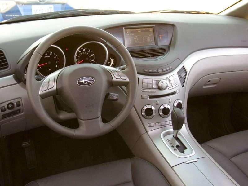 2011 Subaru Tribeca Pictures Including Interior And Exterior Images