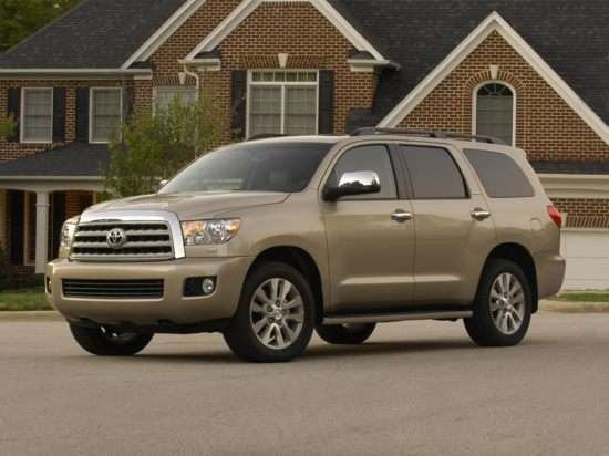 2011 Toyota Sequoia Limited 5.7L 4x4
