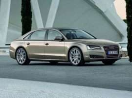 2012 Audi A8 L W12 6.3 4dr All-wheel Drive quattro LWB Sedan