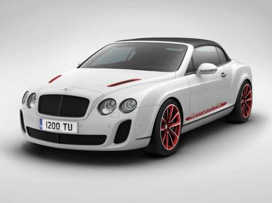 2012 Bentley Continental Supersports ISR Convertible