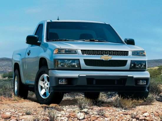 2012 Chevrolet Colorado Models, Trims, Information, and ...