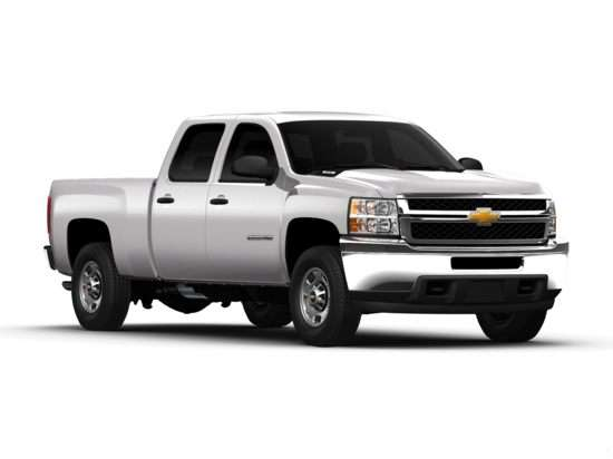 2012 Chevrolet Silverado 3500HD Work Truck 4x2 Crew Cab Long Box DRW