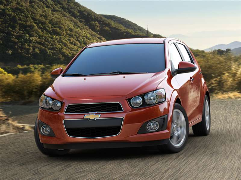 2012 Chevrolet Sonic Pictures Including Interior And Exterior Images