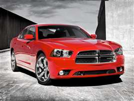 2012 Dodge Charger Police 4dr Rear-wheel Drive Sedan
