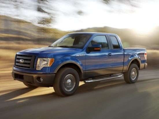 2012 Ford F-150 FX4 4x4 Super Cab Styleside 6.5' Box