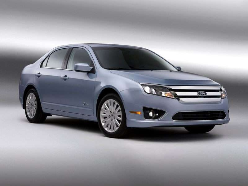 2012 Ford Fusion Hybrid Pictures Including Interior And