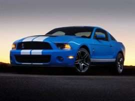 2012 Ford Shelby GT500 Base 2dr Coupe