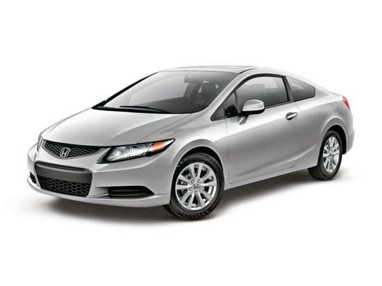 2012 Honda Civic EX-L With Navigation (A5) Coupe