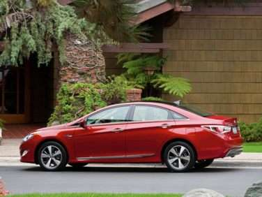 2013 Hyundai Sonata Hybrid Returns with Improved Drivability