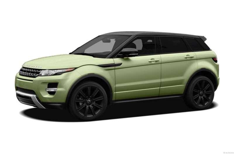 Land Rover Range Evoque Colima Lime Green