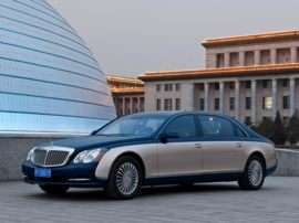 2012 Maybach 57 Base 4dr Sedan