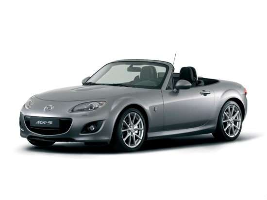 2012 Mazda MX-5 Miata Grand Touring (A6) Convertible