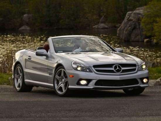 Sir Stirling Moss and Merecedes-Benz Celebrate 60 Years of the SL-Class at Pebble Beach