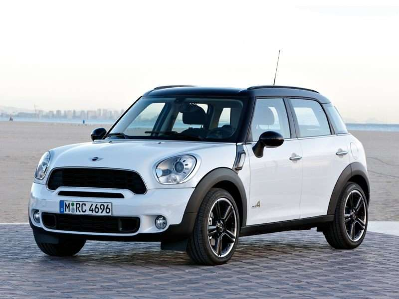 2012 Mini Cooper S Countryman Pictures Including Interior And