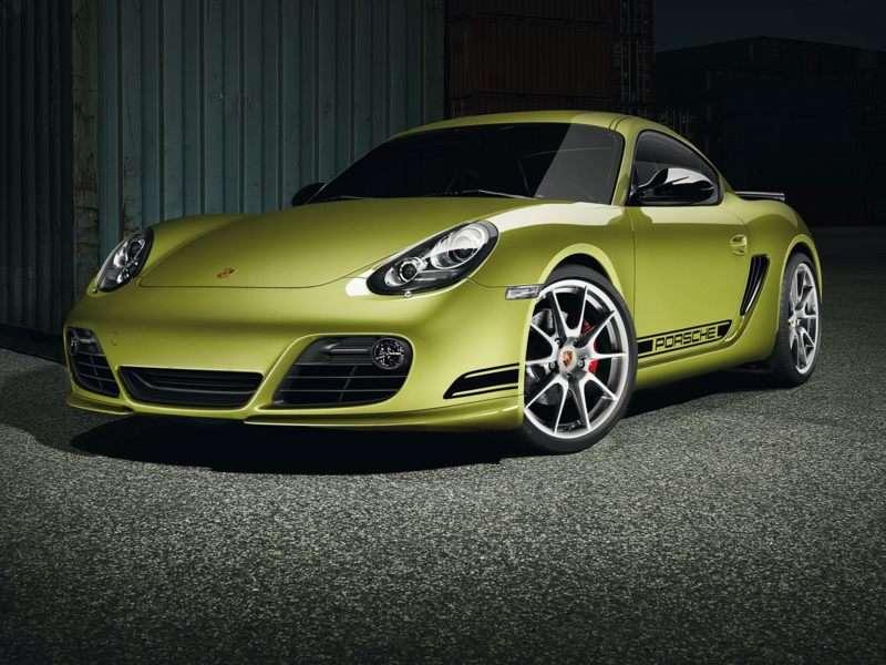 Porsche Cayman R   Peridot Metallic