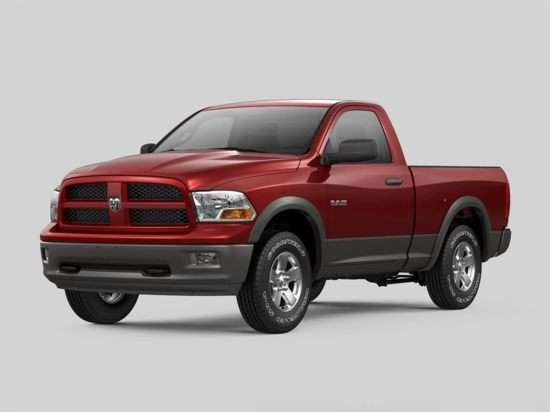 2012 RAM 1500 SLT 4x4 Regular Cab 8' Box