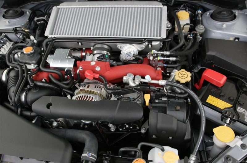 subaru wrx sti 2012 engine
