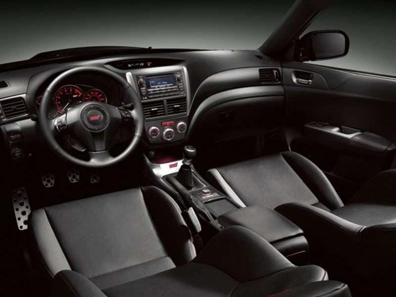 2012 Subaru Impreza Wrx Sti Pictures Including Interior And Exterior
