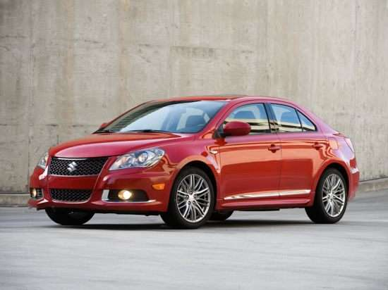 2012 Suzuki Kizashi Sport SLS With Navigation AWD