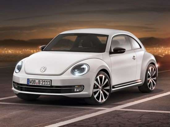 2012 Volkswagen Beetle 2.0T Turbo w/Sunroof/Sound (M6)