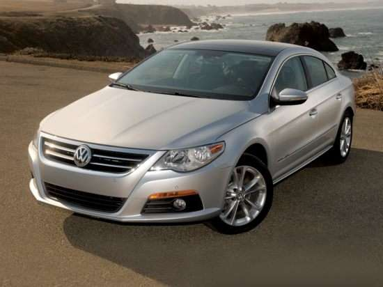 2012 Volkswagen CC Lux Limited Restriction Model w/PZEV (A6) FWD Seda