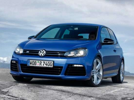 2012 Volkswagen Golf R w/Sunroof & Nav 2dr