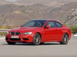 2013 BMW M3 Base 2dr Rear-wheel Drive Coupe