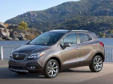 2013 Buick Encore Added to Top Safety Pick Roster