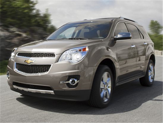 2013 Chevrolet Equinox Models, Trims, Information, and ...
