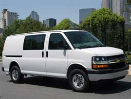 2013 Chevrolet Express 2500 LS Rear-wheel Drive Passenger Van