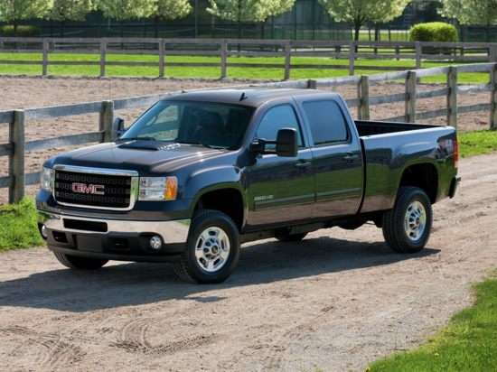 2013 GMC Sierra 3500HD SLT 4x2 Crew Cab Short Box