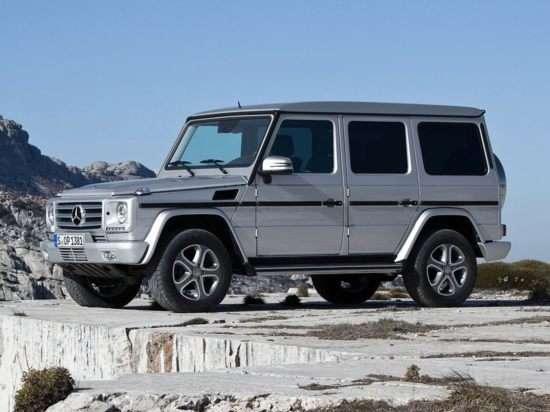 2013 Mercedes-Benz G550 Luxury SUV Video Review