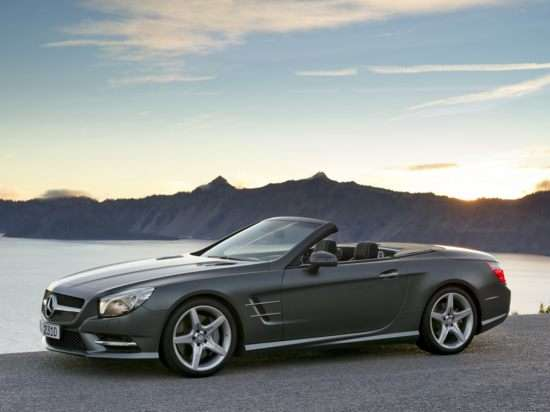 2013 Mercedes-Benz SL550 Test Drive & Luxury Convertible Car Video Review