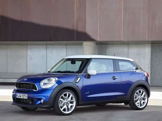 2013 MINI John Cooper Works Paceman Quick Spin