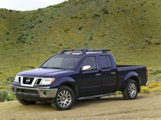 2013 Nissan Frontier SV (A5) 4x4 Crew Cab Short Box