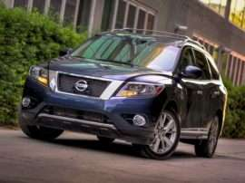 2013 Nissan Pathfinder S 4dr Front-wheel Drive