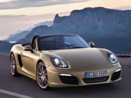 2013 Porsche Boxster S 2dr Rear-wheel Drive Convertible