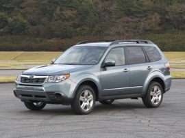 2013 Subaru Forester 2.5X Limited 4dr All-wheel Drive