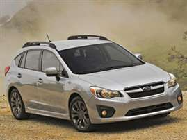 2013 Subaru Impreza 2.0i 4dr All-wheel Drive Hatchback
