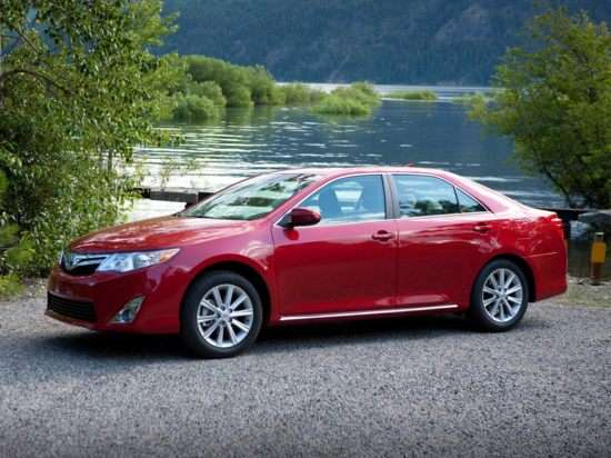 2013 Toyota Camry XLE V6 Midsize Sedan Video Review