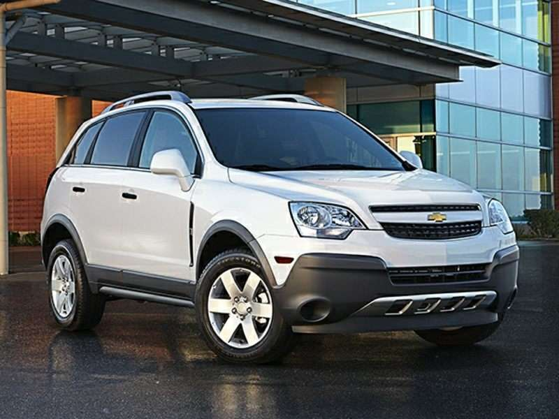 2014 Chevrolet Captiva Sport Pictures including Interior and ...