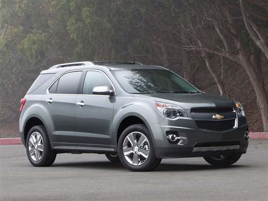 2014 Chevrolet Equinox Models, Trims, Information, and ...