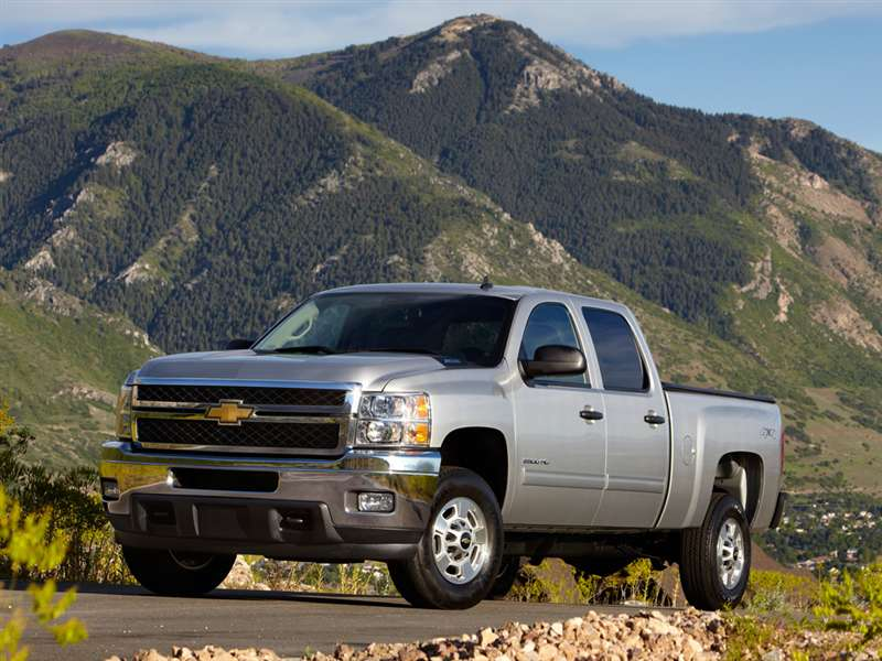 2014 Chevrolet Silverado 2500HD Pictures including ...