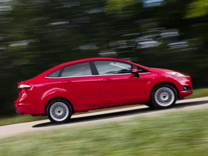 2014 Ford Fiesta 1.0L EcoBoost Gets Its EPA Ratings