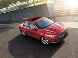 2014 Ford Fusion S 4dr Front-wheel Drive Sedan
